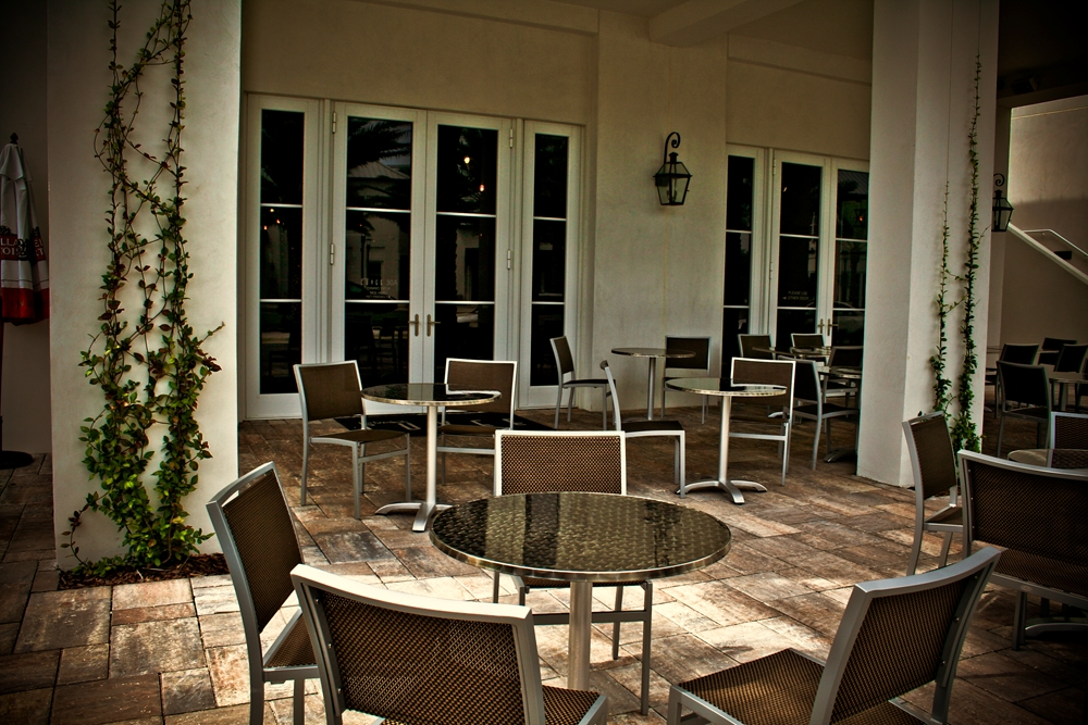 Cuvee 30A Outside Deck • Catering Events