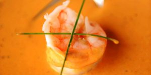 Chef Tim Creehan's Signature Smoked Tomato and Shrimp Soup Mother's Day Celebration