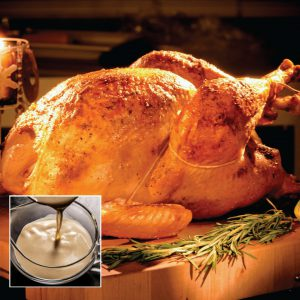 Turkey Only | Fried Louisiana Turkey with Chef Creehan's Traditional Gravy