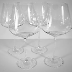 Lucaris Crystal Burgundy Wine Glass - Set of 4