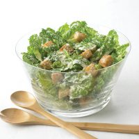 Caesar Salad with Romano and Croutons