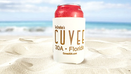 Free Cuvee 30A Coozie with any Purchase