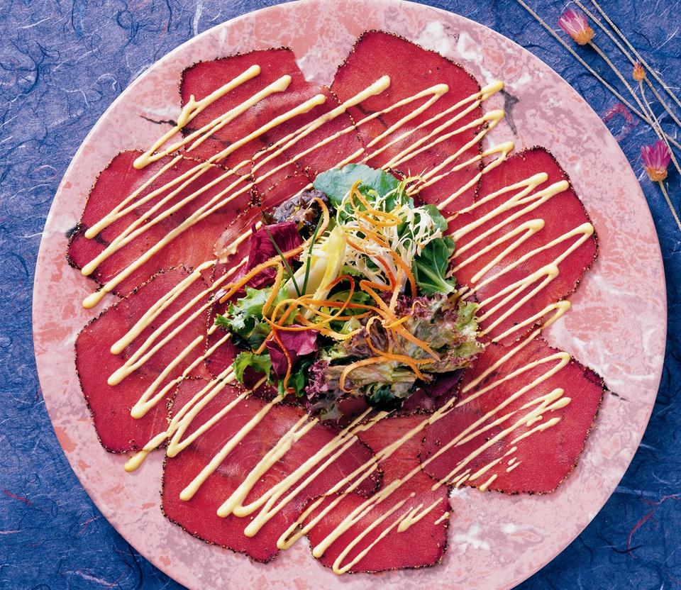 Tim Creehan's Flavors of the Gulf Coast Cookbook - Carpaccio Recipe Photo