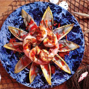 Tim Creehan's Flavors of the Gulf Coast Cookbook - Shrimp Recipe Photo