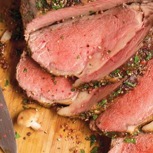 Prime Rib with Au Jus (5-6lb cooked)