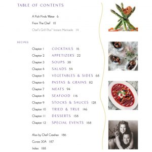 Tim Creehan's Simple Cuisine Cookbook - Table of Contents