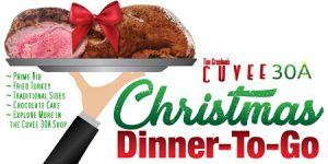 Christmas Dinner-To-Go | Prime Rib | Fried Turkey | Cuvee 30A Shop
