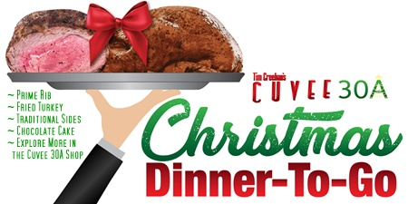 Christmas Dinner-To-Go | Prime Rib | Fried Turkey | Cuvee 30A Shop
