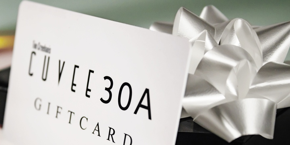 Cuvee 30A Gift Cards ~ The perfect present for the foodie on your list