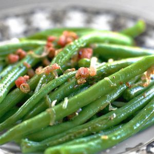 Bacon Braised Green Beans | Cuvee 30A Thanksgiving Turkey-To-Go | Heat & Serve Dinner