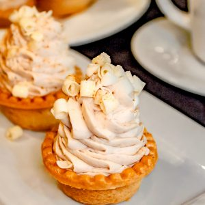 Pumpkin Banana Cream Pie Individual Tarts