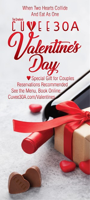 Valentine's Day Dinner | Cuvee 30A