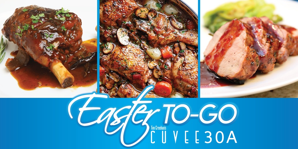 Easter Sunday | Heat and Server Dinner-To-Go | Cuvee 30A
