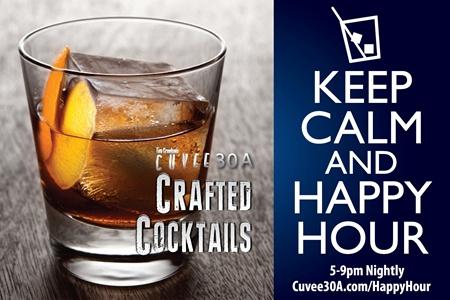 Happy Hour Craft Cocktails