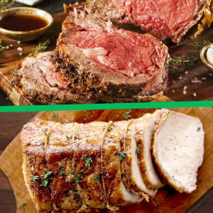 Prime Rib + Roasted Pork | Cuvee 30A Christmas Dinner-To-Go