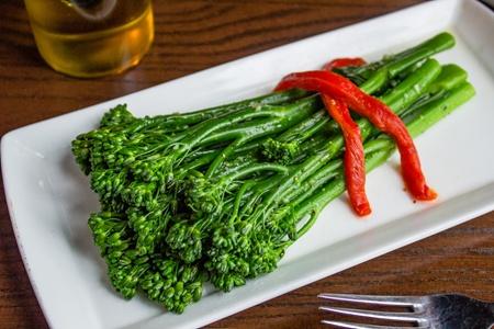Saute Garlic Broccolini