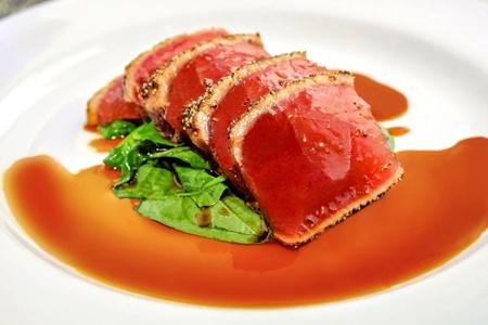 Seared Yellow Fin Tuna