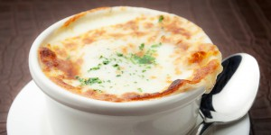 Tim Creehan's French Onion Soup ~ Christmas Eve Dinner and Christmas Day Feast at Cuvee 30A at 30Avenue