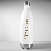 Cuvee 30A h2go Force Stainless Steel Thermal Bottle – White
