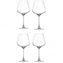 Lucaris Crystal Burgundy Wine Glass – Set of 4