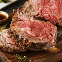 Christmas Dinner-To-Go: Prime Rib Full Dinner + Dessert